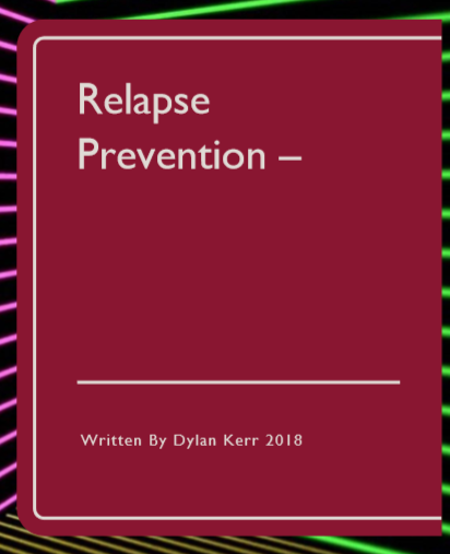 Free relapse prevention book for all afflictions