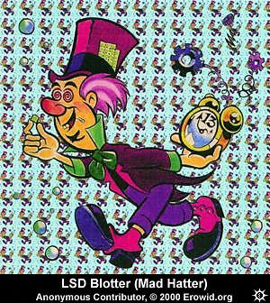 LSD blotter image